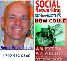 Social and Business Networking. Get paid to advertise your business. Work at home.